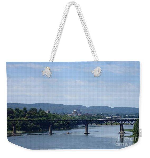 City Bridges Weekender Tote Bag