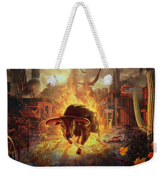 City Bull City Weekender Tote Bag