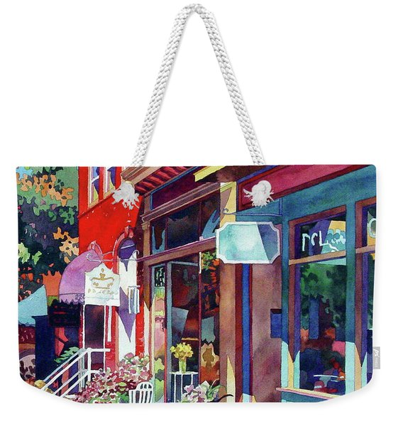 City Flower Weekender Tote Bag
