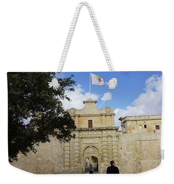 City Gates To Mdina, Malta Weekender Tote Bag
