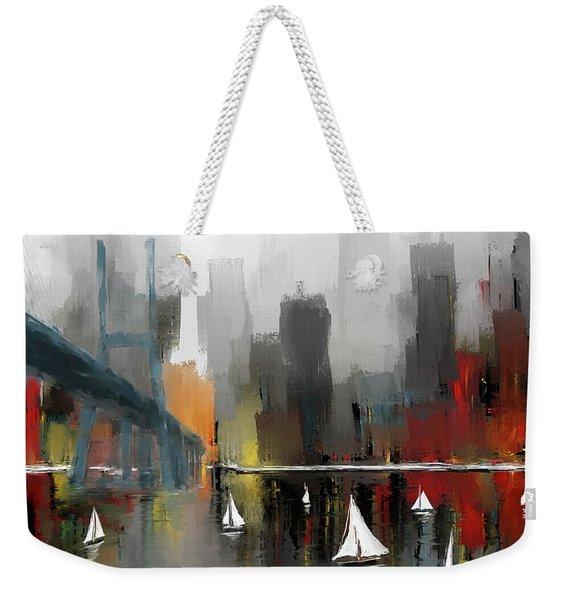 City Glow Weekender Tote Bag
