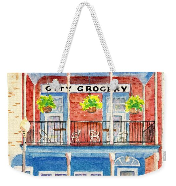 City Grocery Oxford Mississippi  Weekender Tote Bag
