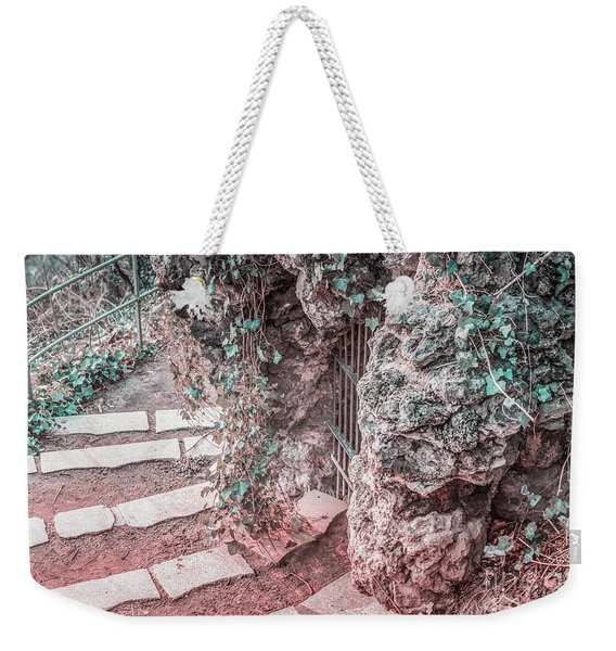 City Grotto Weekender Tote Bag