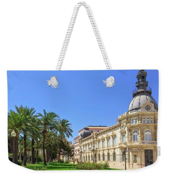 City Hall Of Cartagena In Spain Weekender Tote Bag