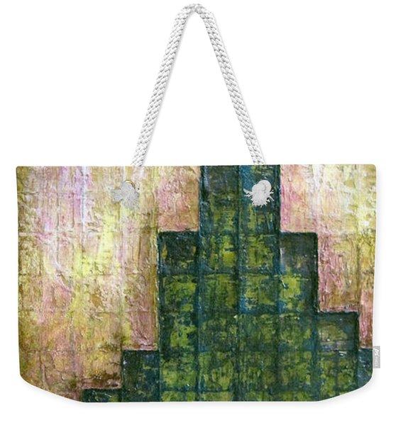 City In Green Weekender Tote Bag