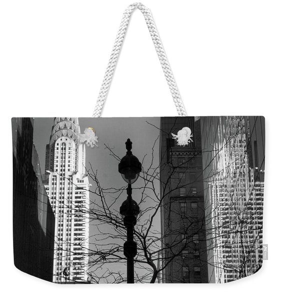 Chrysler Reflections Weekender Tote Bag