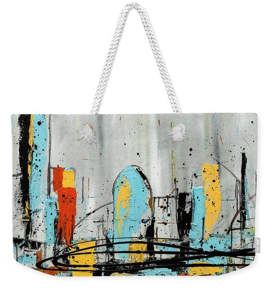 City Limits Weekender Tote Bag