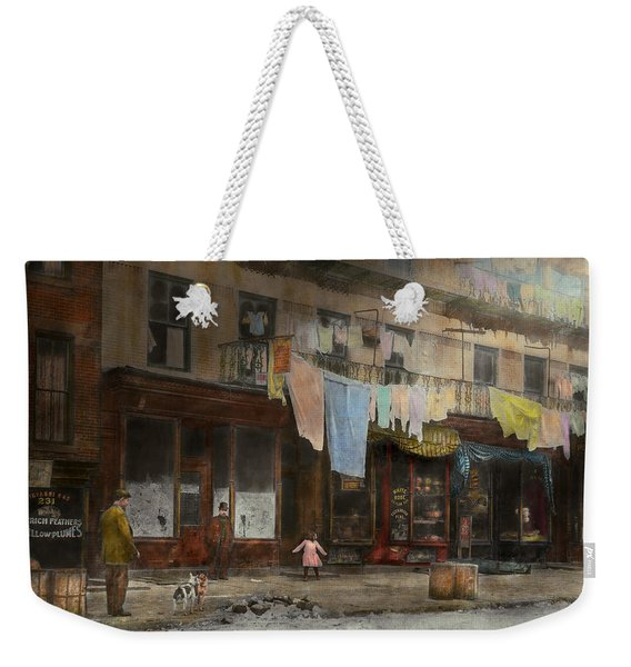 City - Ny - Elegant Apartments - 1912 Weekender Tote Bag