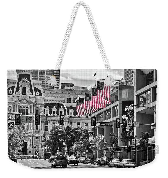 City Of Brotherly Love - Philadelphia Weekender Tote Bag