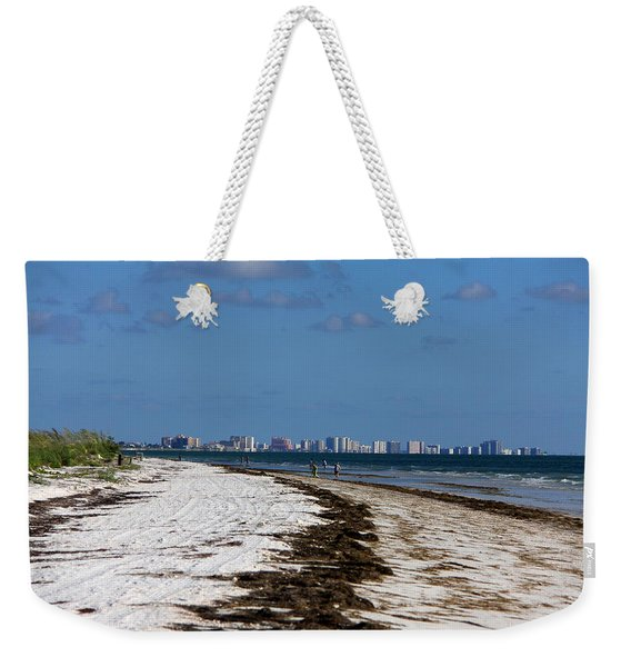 City Of Clearwater Skyline Weekender Tote Bag