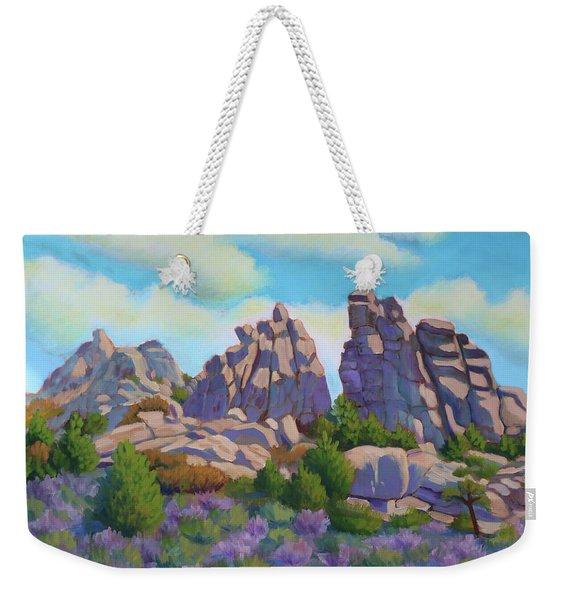 City Of Rocks Weekender Tote Bag