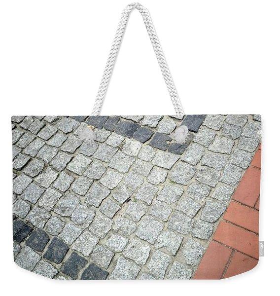 City Pavement Weekender Tote Bag
