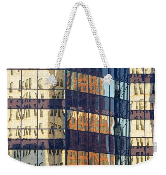 City Reflections 1 Weekender Tote Bag