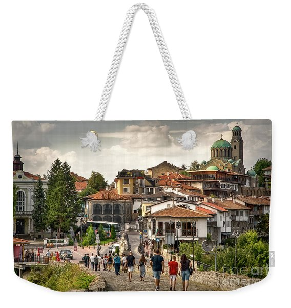 City - Veliko Tarnovo Bulgaria Europe Weekender Tote Bag