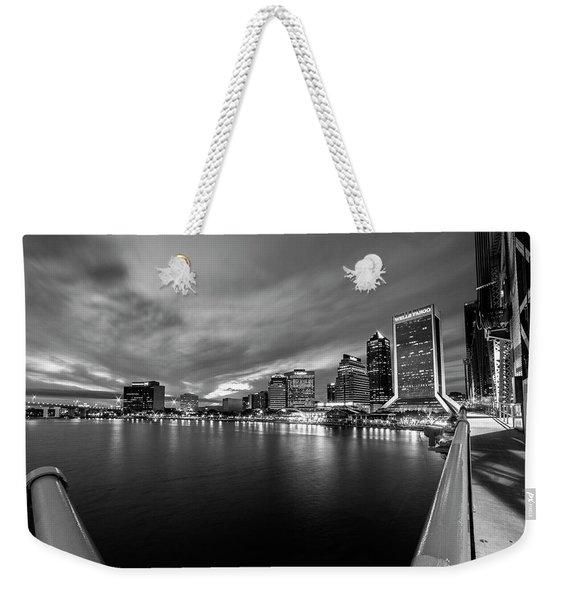 City View Weekender Tote Bag