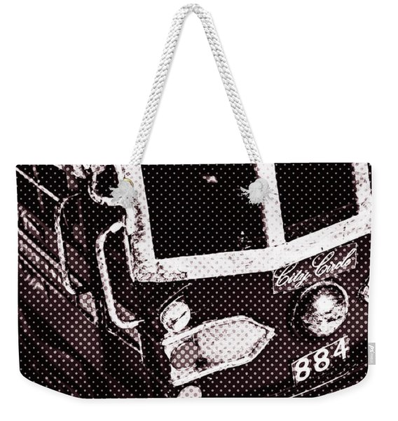 City Wall Art Tours Weekender Tote Bag