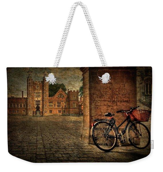 City Wheels Weekender Tote Bag