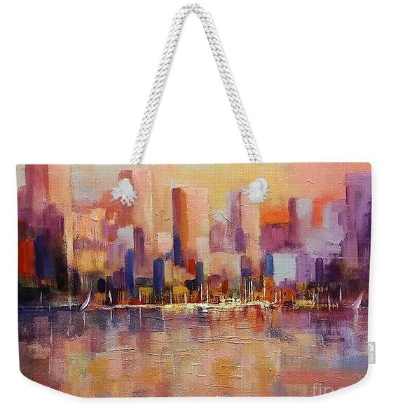 Cityscape 2 Weekender Tote Bag