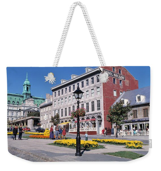 Cityscape Montreal Quebec Canada Weekender Tote Bag