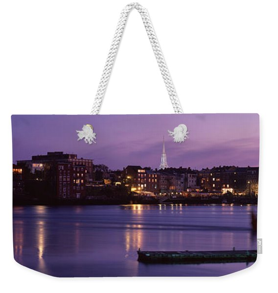 Cityscape Portsmouth Nh Usa Weekender Tote Bag