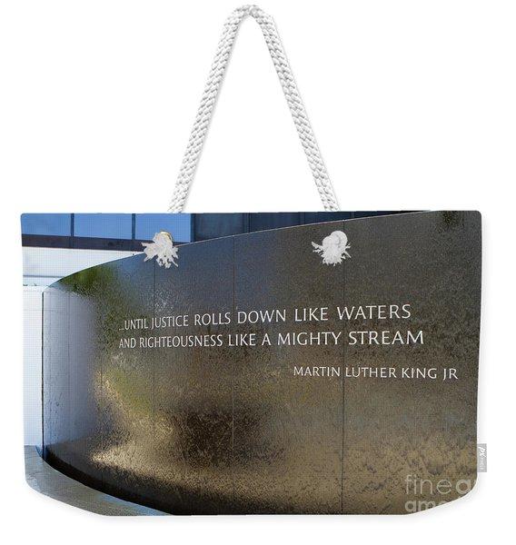 Civil Rights Memorial Weekender Tote Bag