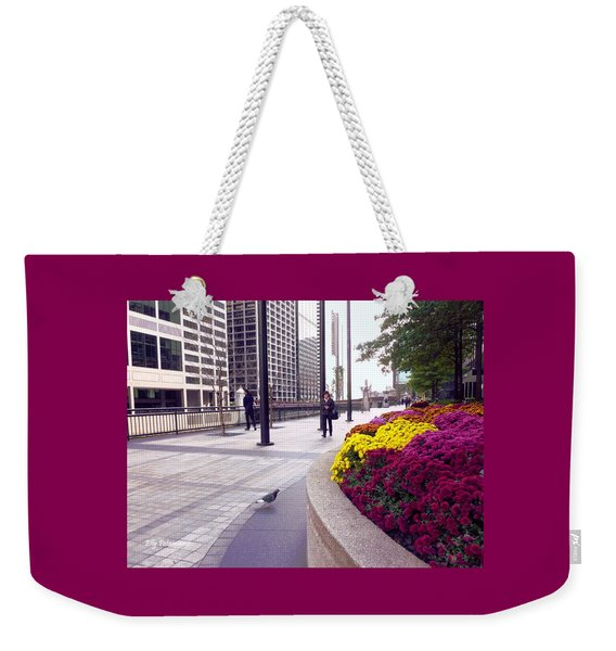 Civilization And Birds Weekender Tote Bag