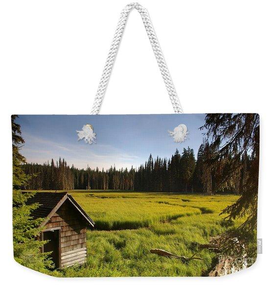 Clackamas Meadow Pump House- 2 Weekender Tote Bag