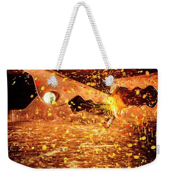 Clamp And Surge Weekender Tote Bag