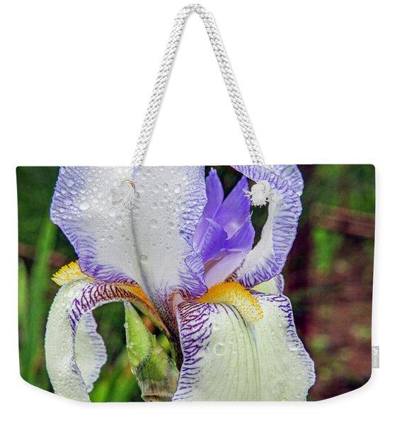 Clarabelle Iris Weekender Tote Bag