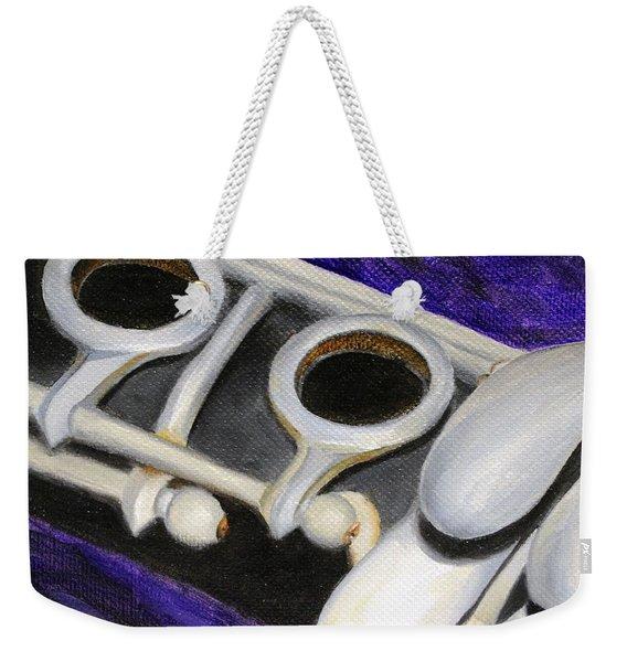 Clarinet Weekender Tote Bag