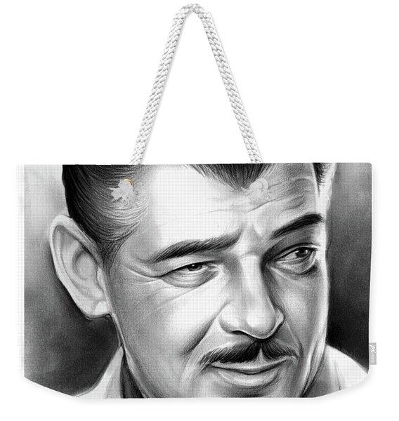 Clark Gable 26aug17 Weekender Tote Bag