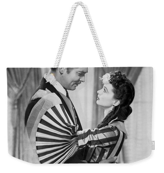Clark Gable And Vivien Leigh Weekender Tote Bag