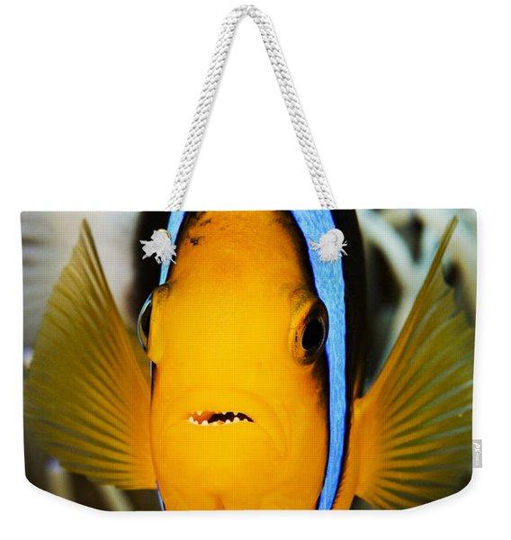 Clarks Anemonefish Face Weekender Tote Bag