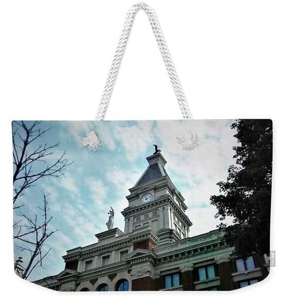 Clarksville Tn Courthouse Weekender Tote Bag