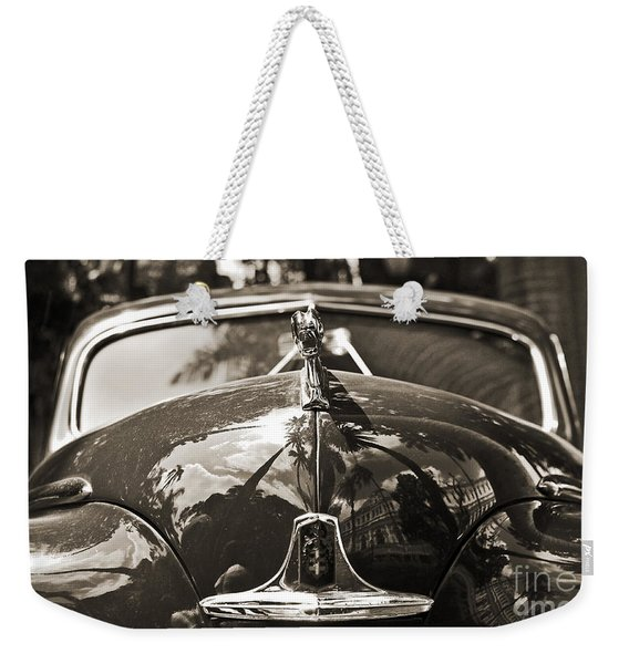 Classic Car Detail - Dodge 1948 Weekender Tote Bag