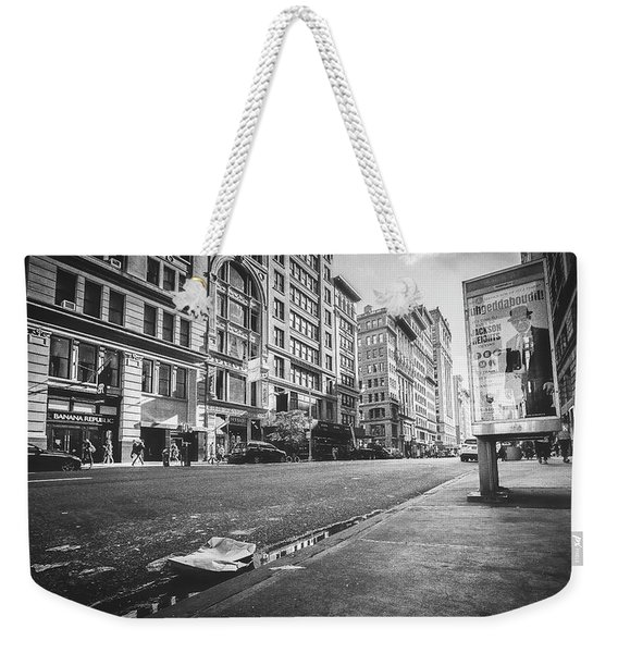 Classic During My Time Weekender Tote Bag