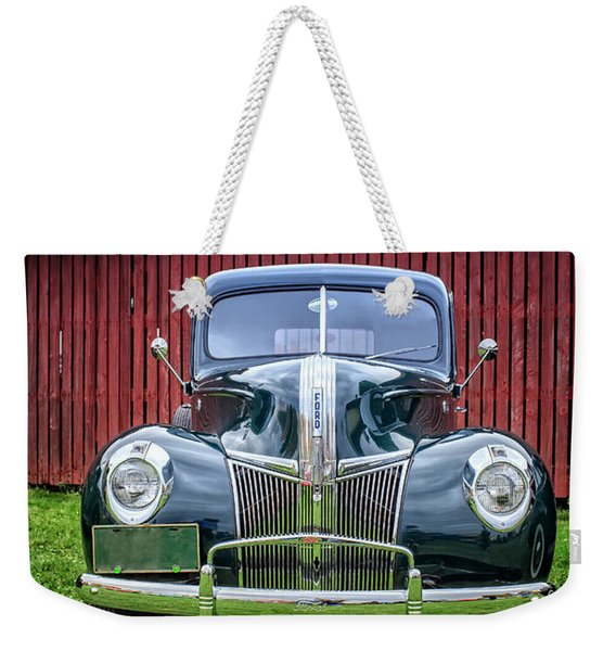 Classic Ford Canterbury Shaker Village Weekender Tote Bag