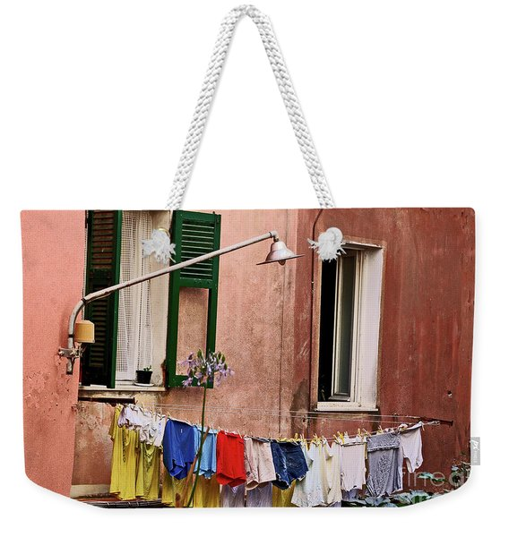 Classic Hand Washing  Weekender Tote Bag
