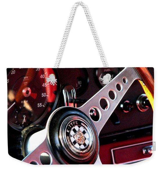 In The Drivers Seat Weekender Tote Bag