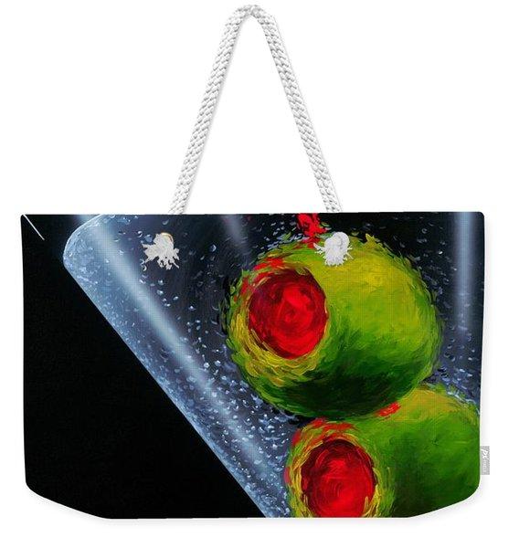 Classic Martini Weekender Tote Bag
