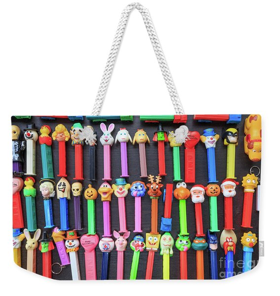 Classic Pez Candy Dispensers  Weekender Tote Bag
