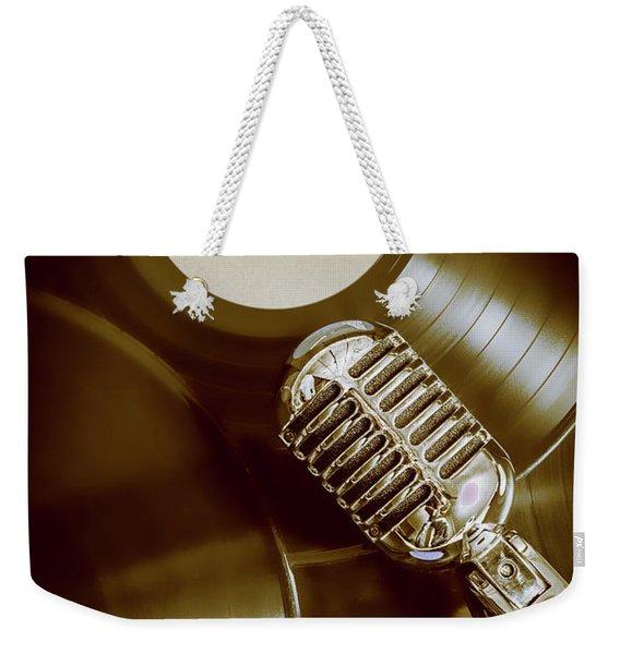Classic Rock N Roll Weekender Tote Bag