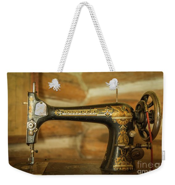 Classic Singer Human Interest Art By Kaylyn Franks Weekender Tote Bag