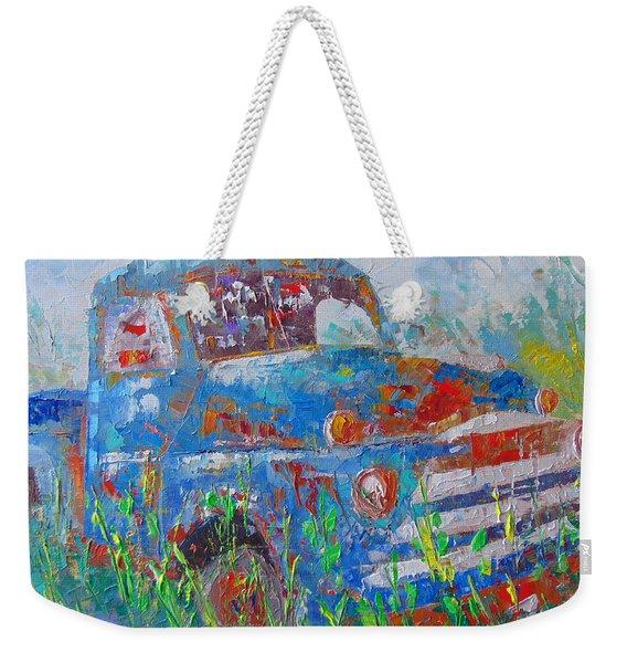Classic Truck Weekender Tote Bag