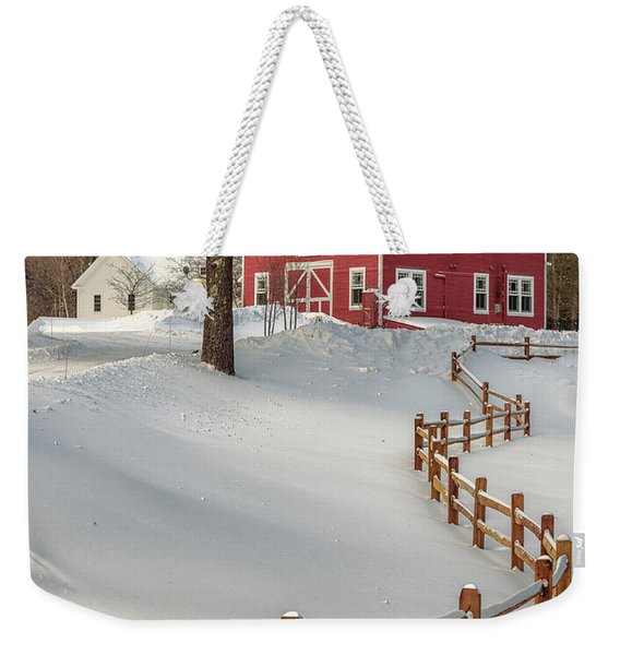 Classic Vermont Barn Weekender Tote Bag