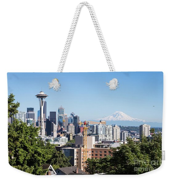 Classic View Of Seattle, Usa Weekender Tote Bag