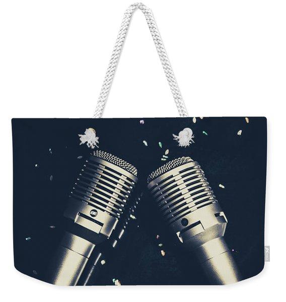 Classical Duet Weekender Tote Bag