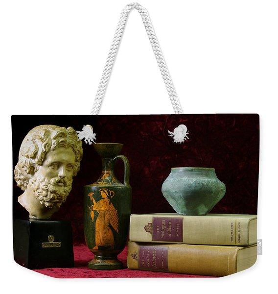 Classical Greece Weekender Tote Bag