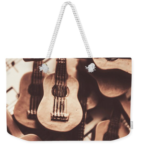 Classical Music Recording Weekender Tote Bag