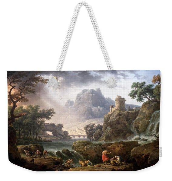 Claude-joseph Vernet Weekender Tote Bag